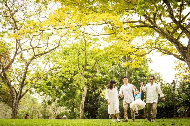Family Photoshoot in Singapore